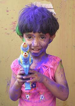 Holi - The festival of color by Rupak Sengupta