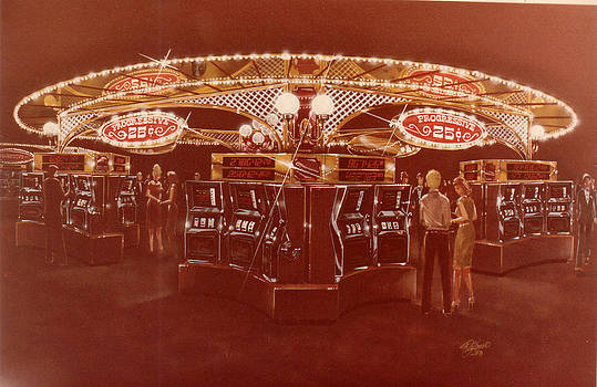 Holiday Casino Carousel by John DiLauro