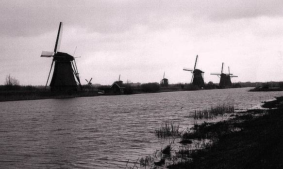 Holland Windmills by John Scates