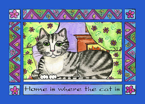 Home is Where the Cat Is  by Pamela  Corwin