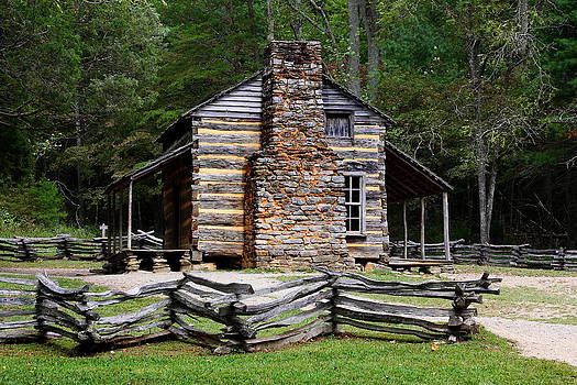 Homestead - Cades Cove by Anthony Wilder