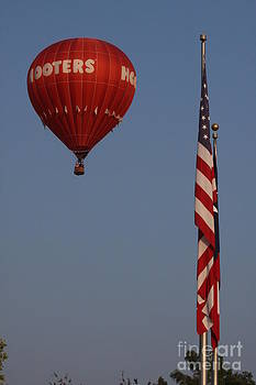 Hooters American Flag by Jerry Bunger