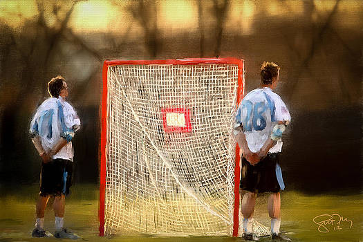 Hopkins Lacrosse Tradition by Scott Melby