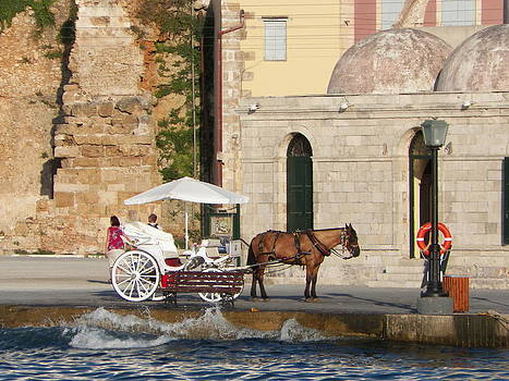 Horse and carriage by B Russo