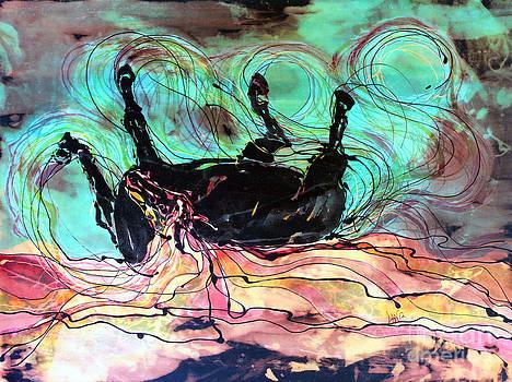 Horse Born of Earth Water Sky by Carol Law Conklin