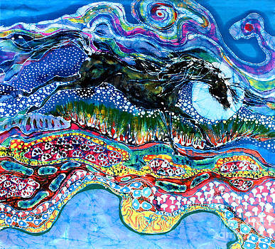 Horse Born of Moon Energy by Carol Law Conklin