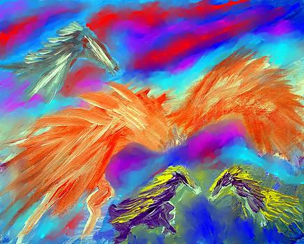 Horseplay by Larry Cirigliano