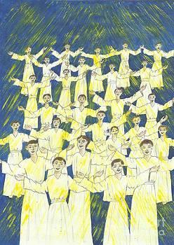 Host of angels-1 by Joy Ballack
