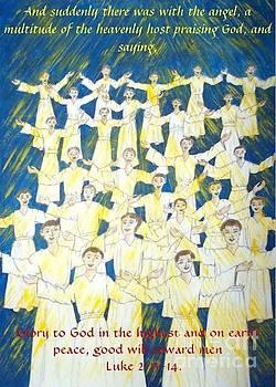 Host of angels by Joy Ballack
