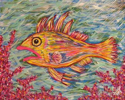 Hot Lips the Fish by Susan Cliett