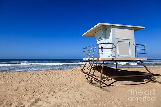 Paul Velgos - Huntington Beach Lifeguard Tower Photo