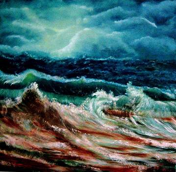 Hurricane Nibiru by Liana Horbaniuc