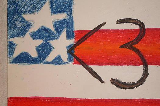 I Hart America by Genoa Chanel