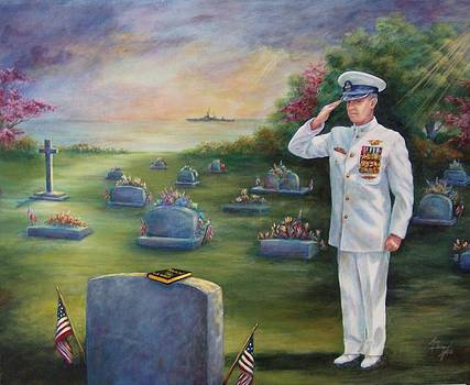 I Salute You My Friend by Mary Lillian White