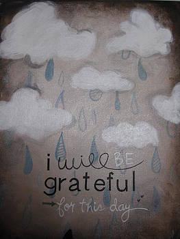 I Will Be Grateful by Salwa  Najm