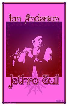 Ian Anderson by John Goldacker