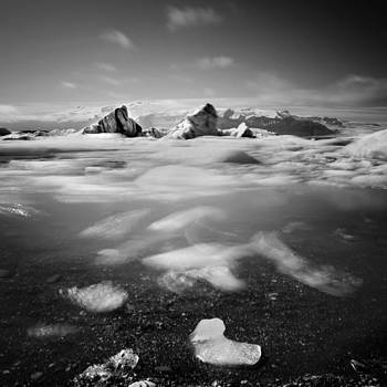 Iceland Floating Ice by Nina Papiorek