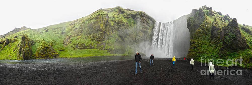 Gregory Dyer - Iceland Skogar Waterfall