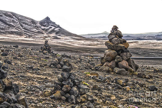 Gregory Dyer - Iceland Stacked Rocks