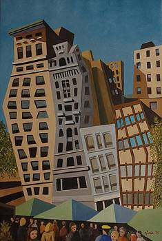 Impression Union Square West NYC by Lester Glass