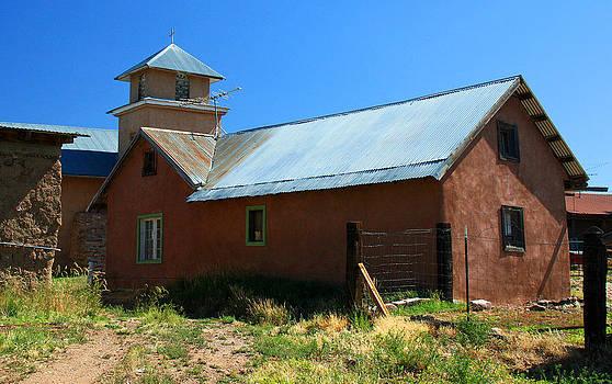 Elizabeth Rose - In Back of Church in Truchas New Mexico