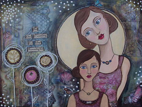 In the Evening by the Moonlight by Suzanne Drolet