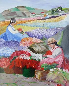 In the flower field II by Dis Art