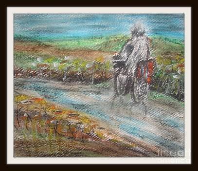 In the rain by Foqia Zafar