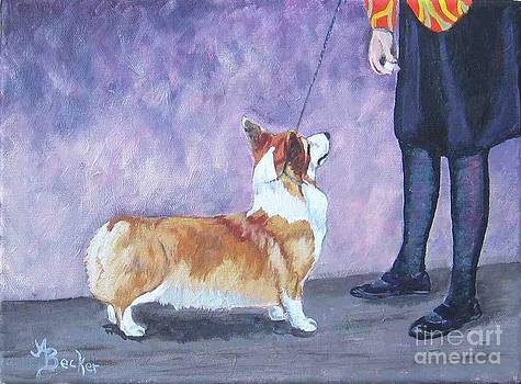 In the Show Ring II by Ann Becker