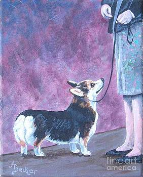 In the Show Ring III by Ann Becker