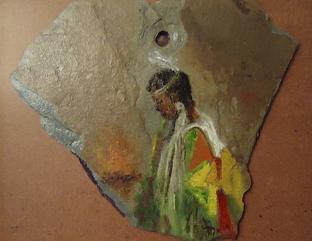 Indian Girl  by Betty Pimm
