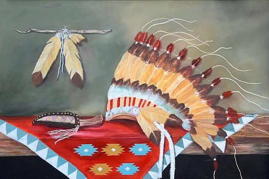 Indian Warrior's Crown by Jan Holman