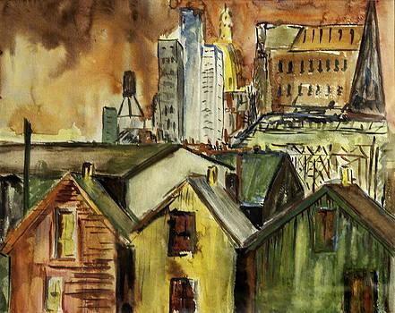 Lynn Palmer - Indianapolis Skyline c.1962
