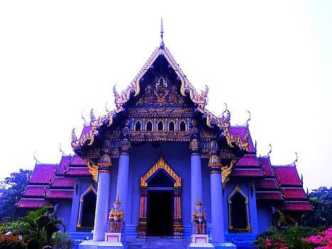 Indonesia Buddha Temple by Sachin Manawaria
