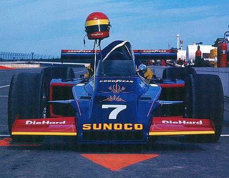 Indy race car by David Campione