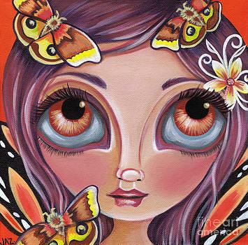Io Moth Fairy by Jaz Higgins