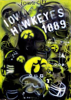 Jon Baldwin  Art - Iowa Hawkeyes Est 1889
