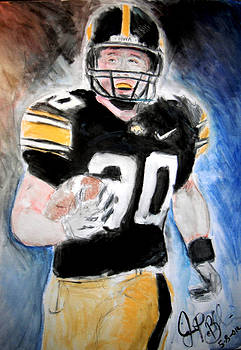 Jon Baldwin  Art - Iowa Hawkeyes
