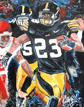 Jon Baldwin  Art - Iowa Hawkeyes Offense