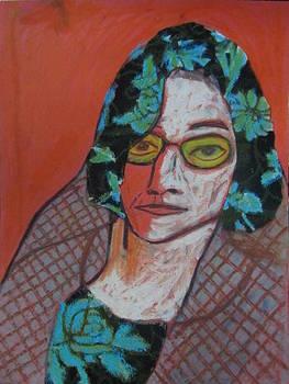 Iranian Grandmother by Molood Mazaheri