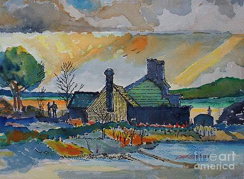 Irish Coast House by Donald McGibbon