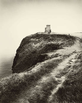 Irish Coast Tower  by Linde Townsend