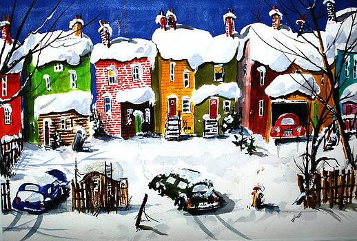 It Snowed Again Last Night by Wilfred McOstrich