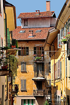 Italian Balconies by Malu Couttolenc
