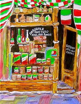 Italian Food Store by Michael Litvack