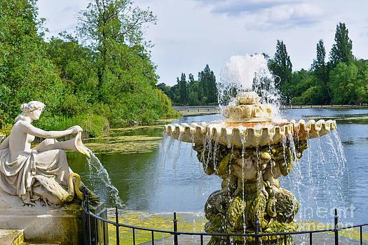 Italian fountain London by Andrew  Michael