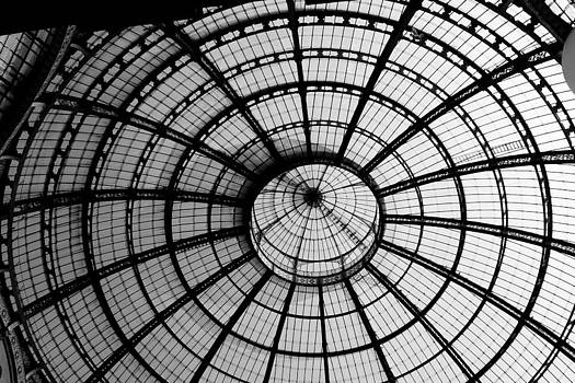 ITL-0016-Glass Ceiling At The Milan Gallery Round by Les Abeyta