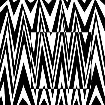 Jagged Box Optical Illusion by Casino Artist