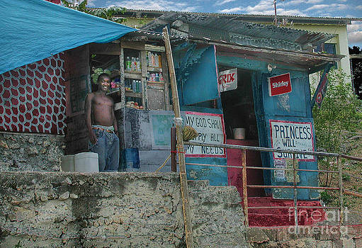 Jamaica store by Jim Wright