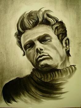James Dean by Morgan Greganti